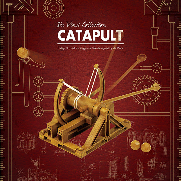 Load image into Gallery viewer, Da Vinci Collection Catapult Machine Model Kit