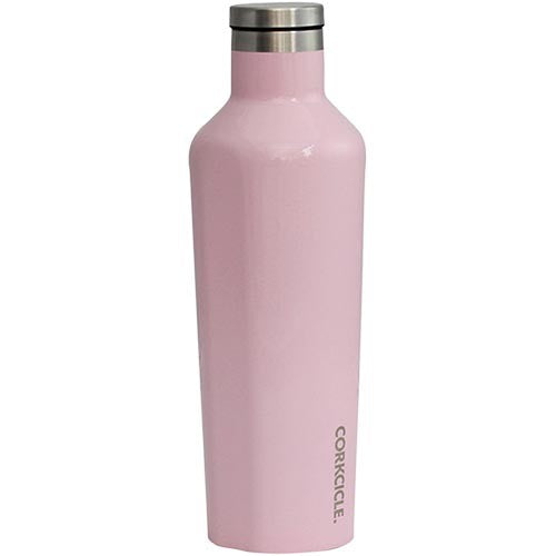 Load image into Gallery viewer, Corkcicle steel bottle canteen 16oz | Rose Quartz