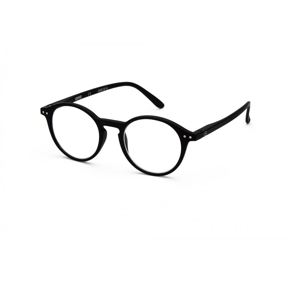 Load image into Gallery viewer, Reading Glasses Style D Black +2