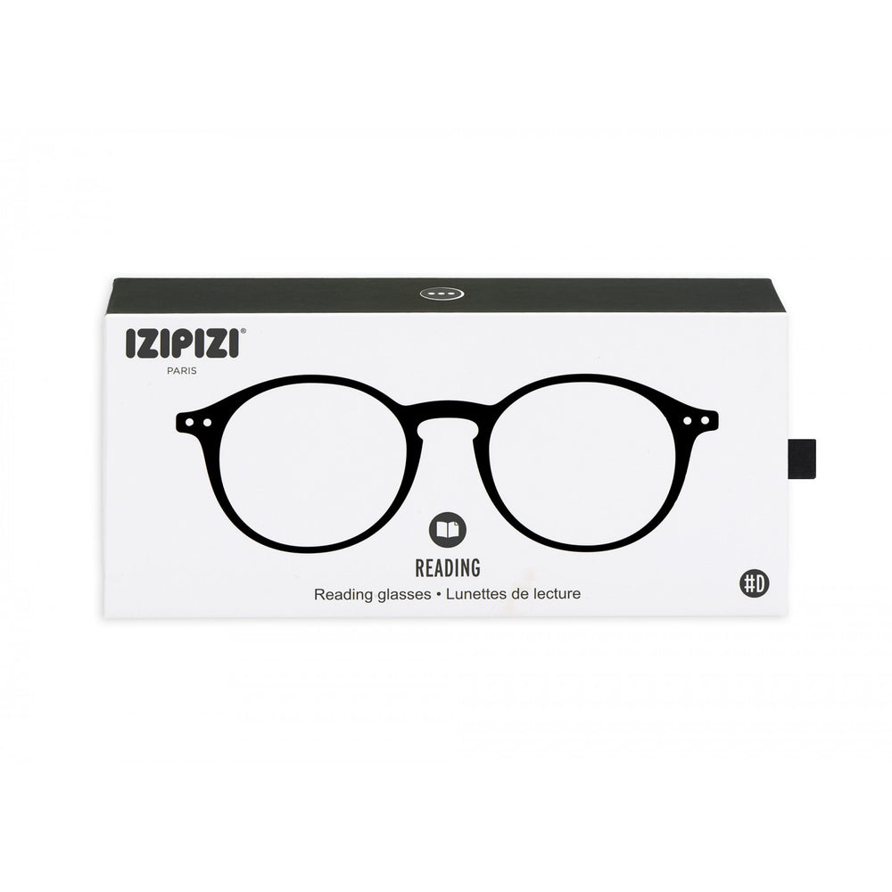 Load image into Gallery viewer, Reading Glasses Style D Black +1