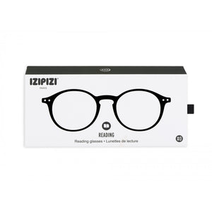 Reading Glasses Style D Black +1.5