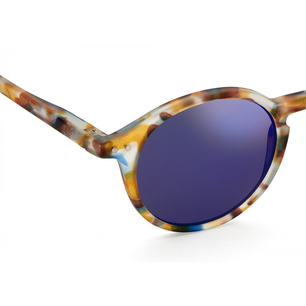 Load image into Gallery viewer, Sunglasses Style D Blue Tortoise Mirror