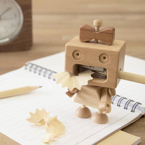 Load image into Gallery viewer, Pencil Sharpener Girl Robot