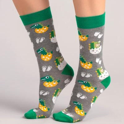 Jurassic Dinosaur Sock Set Gift Box