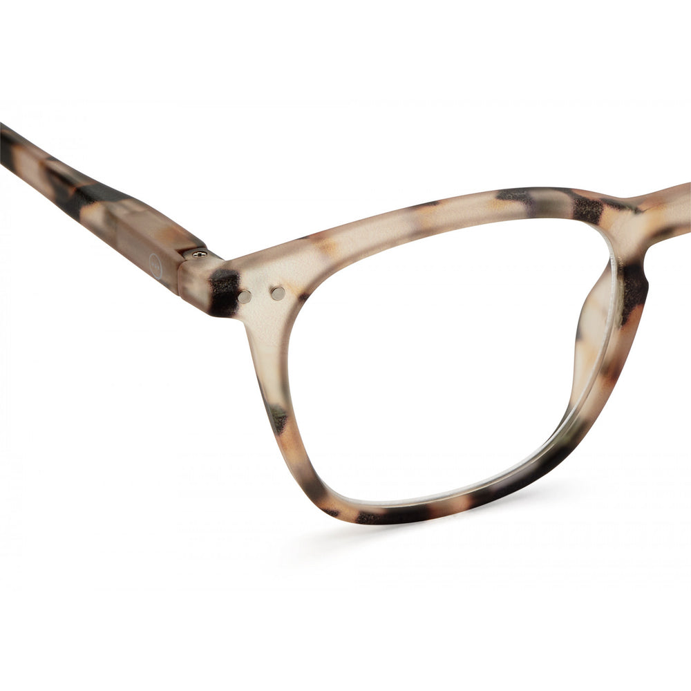 Reading Glasses Style E Light Tortoise +1