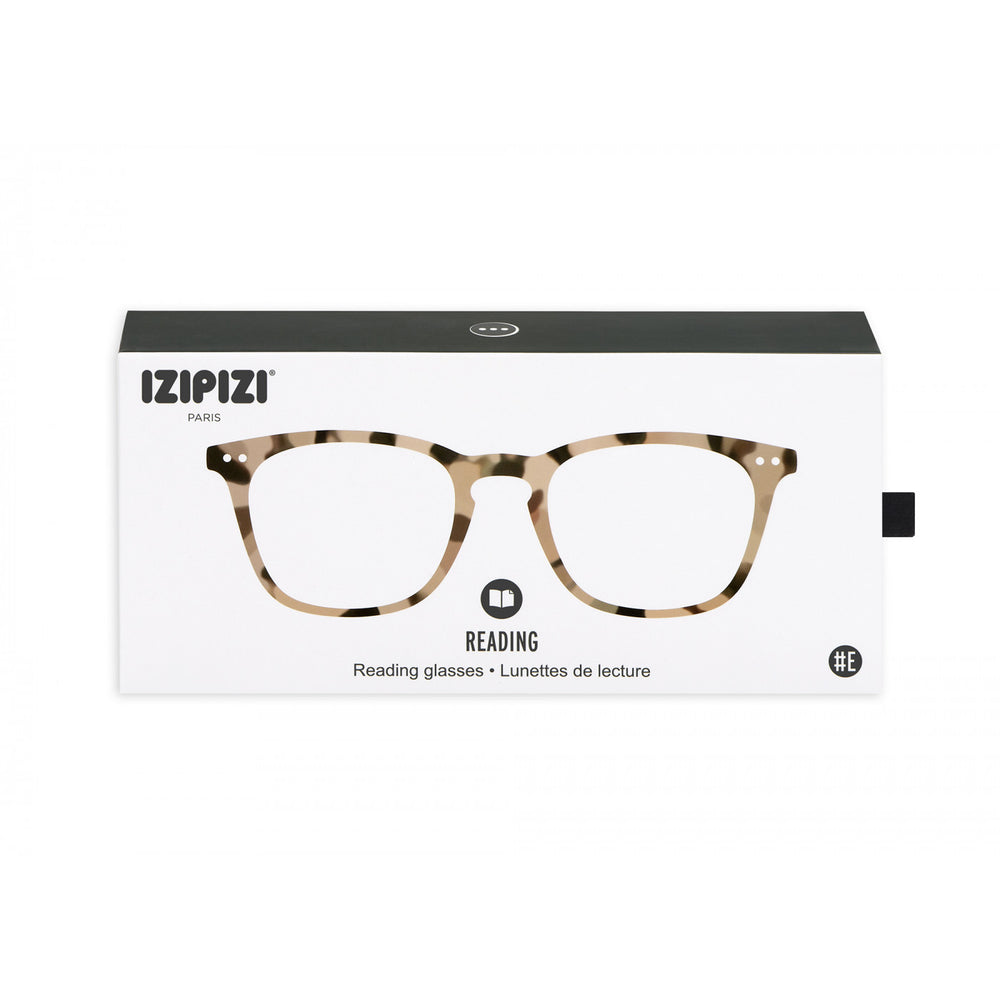 Load image into Gallery viewer, Reading Glasses Style E Light Tortoise +3