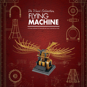 Load image into Gallery viewer, Da Vinci Collection Flying Machine Model Kit