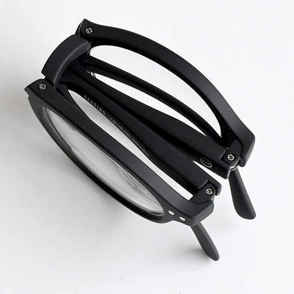 Reading glasses Style Foldable Black +3