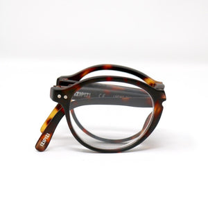 Load image into Gallery viewer, Reading glasses Style Foldable Tortoise +1.5