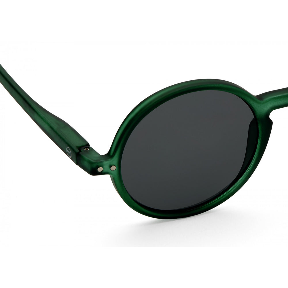 Sunglasses Style G Green Crystal