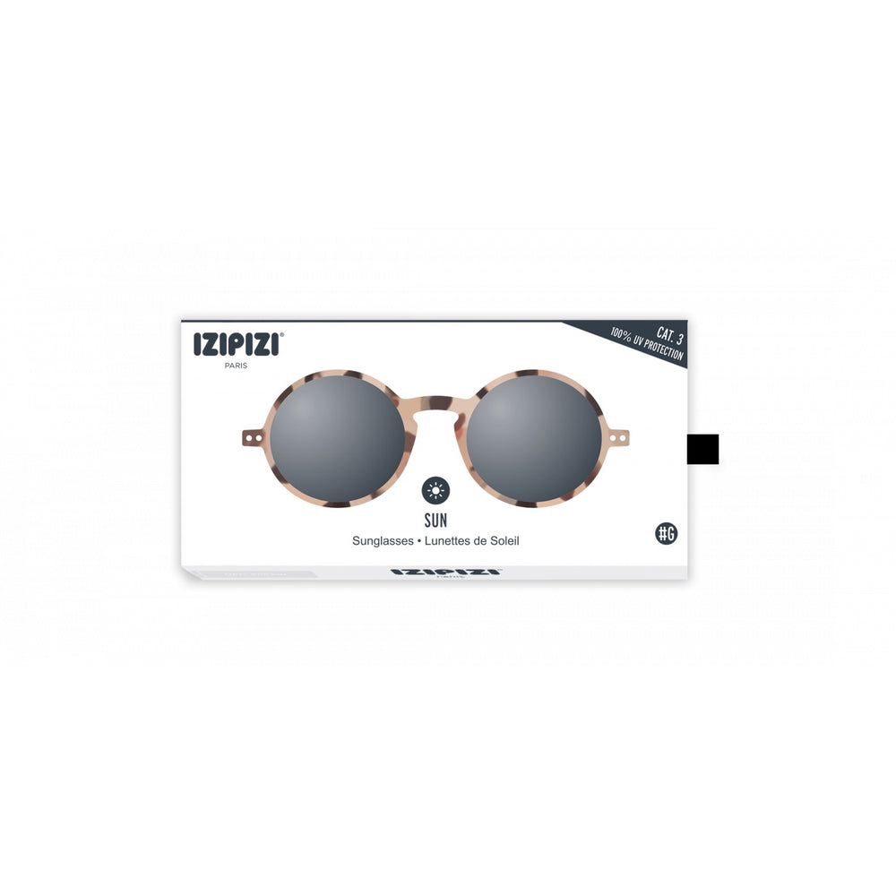Sunglasses Style G Light Tortoise Grey Lenses