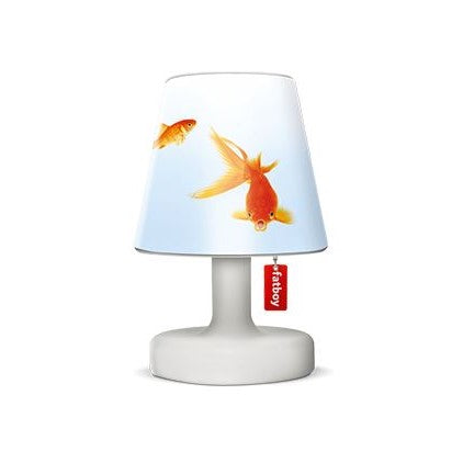 Load image into Gallery viewer, Cooper Fatboy cappie goldfish lampshade