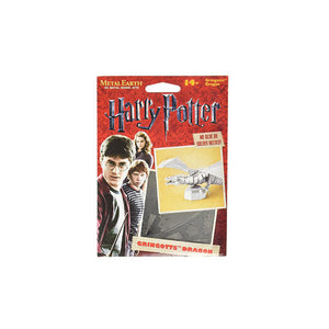 Harry Potter Puzzle Dragon Gringotts Build Your Own 3D Sculpture Metal
