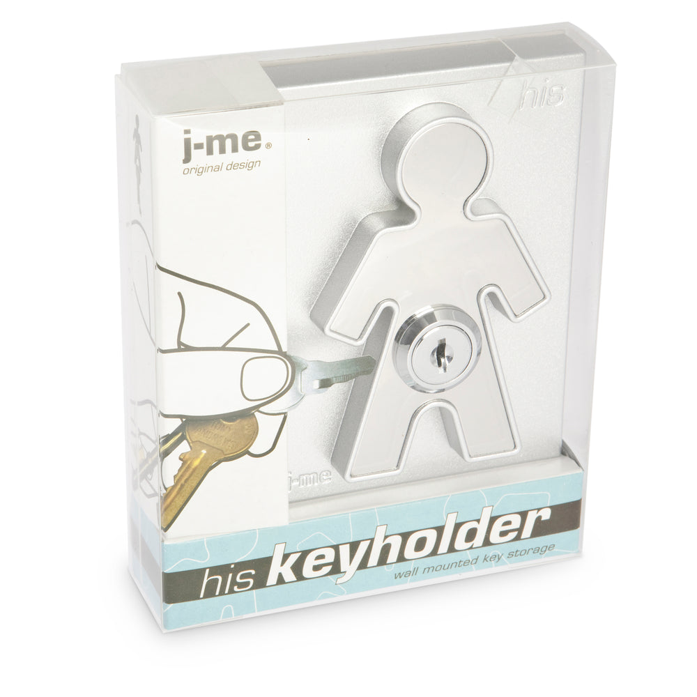 His key holder (matching Hers version available) Home j-me - Brand Academy Store