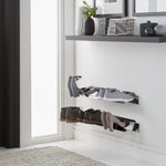 J-ME - Floating Shoe Rack 700mm - Stainless Steel
