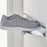 Floating shoe rack 1200mm in Stainless Steel Home j-me - Brand Academy Store