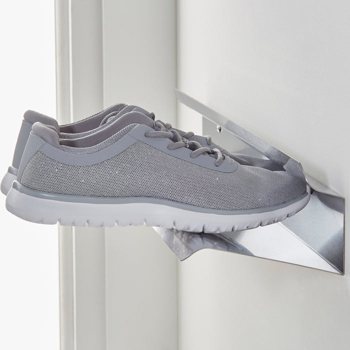 Floating shoe rack 700mm in Stainless steel Home j-me - Brand Academy Store