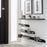 Floating shoe rack 400mm in Black Home j-me - Brand Academy Store
