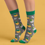 XXMTD Dino Egg Socks Womens