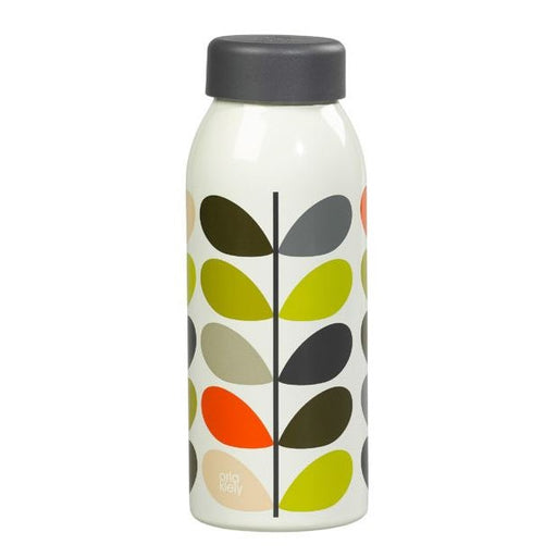 Insulated steel multi stem Orla Kiely bottle Insulated Bottle Wild & Wolf - Brand Academy Store
