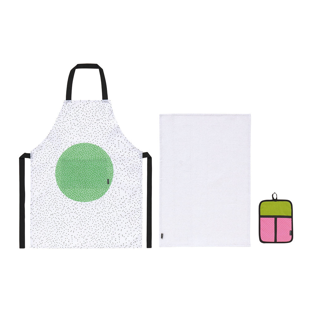 Cooking Accessories Apron Tea Towel and Oven Cloth Cali Roll Sushi Set