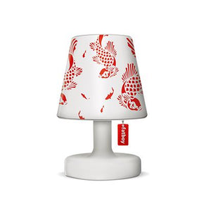 Load image into Gallery viewer, Cooper Fatboy cappie koi lampshade