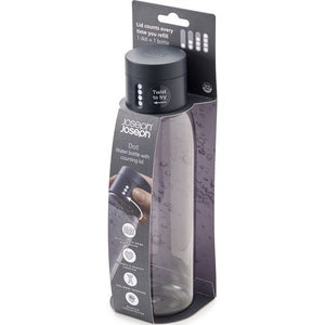 Load image into Gallery viewer, Dot hydration water bottle 600ml | Grey