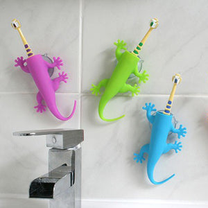 Larry the lizard toothbrush holder | Four colours Bathroom j-me - Brand Academy Store