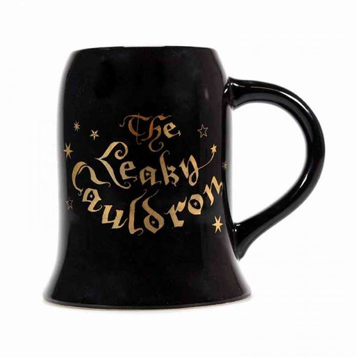 Harry Potter Mug Cauldron Large Black Gold