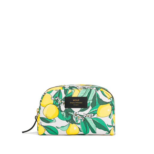 Lemon big beauty bag Home Wouf - Brand Academy Store