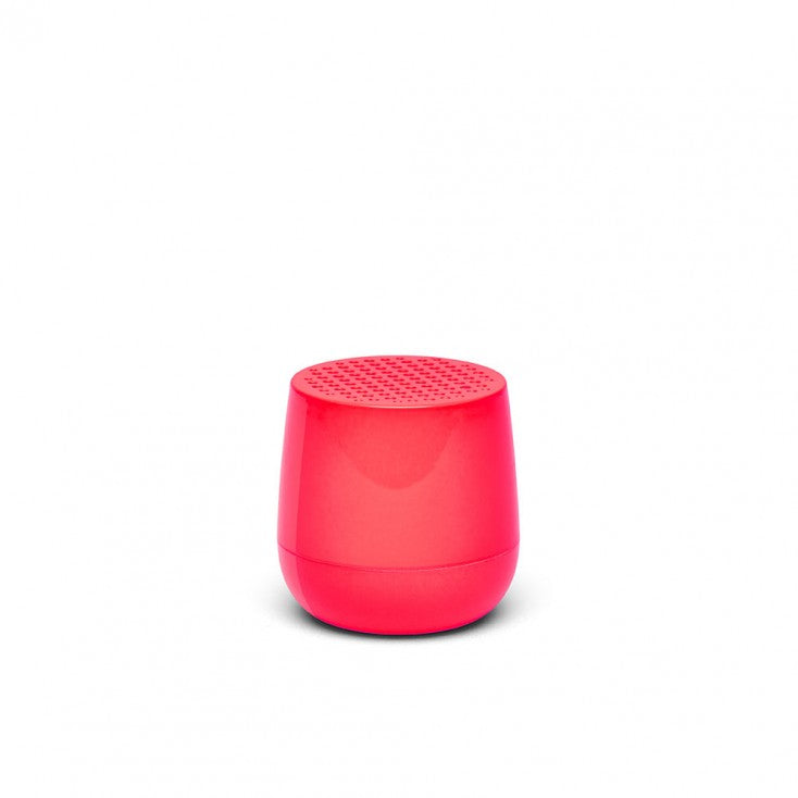 Ultra-portable bluetooth speaker in neon pink