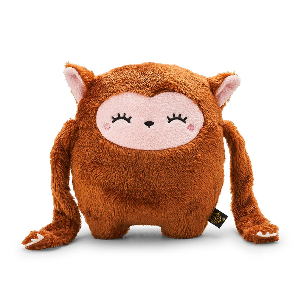 Monkey plush soft toy for children 'Riceoohooh' in brown