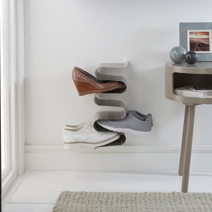 Floating nest wall shoe rack Home j-me - Brand Academy Store