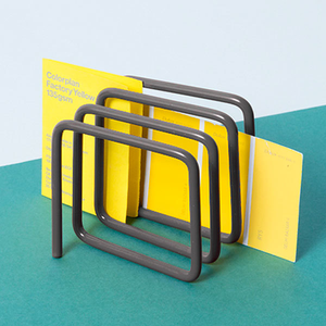 Letter rack in dark grey Home block - Brand Academy Store