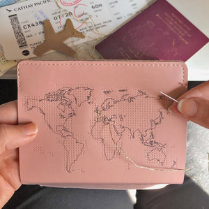Passport Cover Stitch Your Own Pink