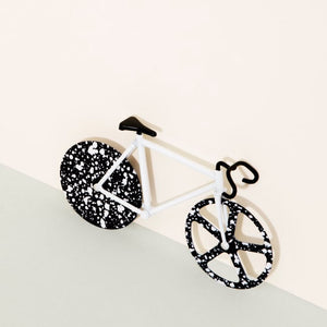 Load image into Gallery viewer, Pizza Cutter Bike Fixie Stardust