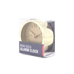 Gold and copper alarm clock