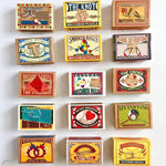 Puzzle Matchbox Set of 4 Wooden or Metal Mini Puzzles