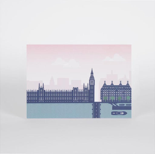 London postcards set