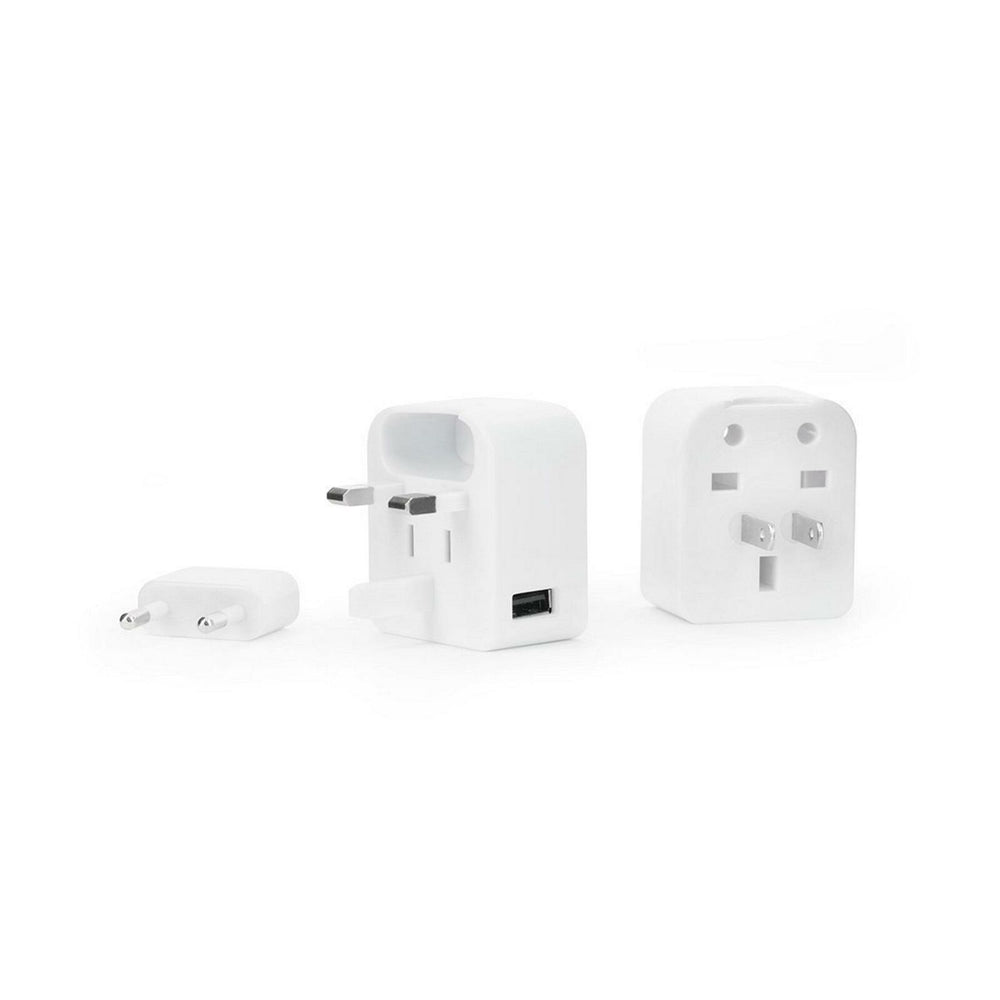 Load image into Gallery viewer, Universal Plug Travel Adapter White