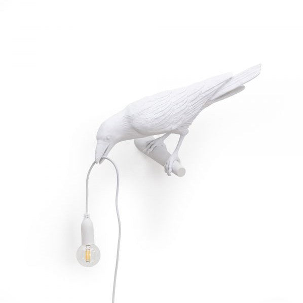Bird Lamp Seletti White Looking
