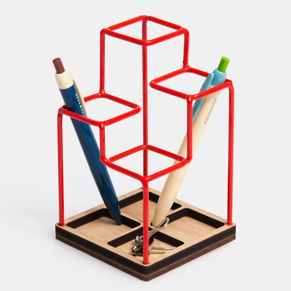 Sketch desk tidy | Red