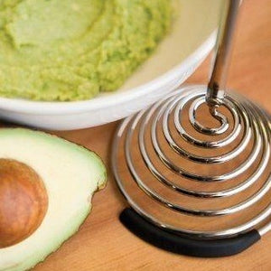 Potato Masher Avocado & Food Smasher Smood Black