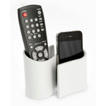 Snug desk tidy & remote control holder - grey Home j-me - Brand Academy Store