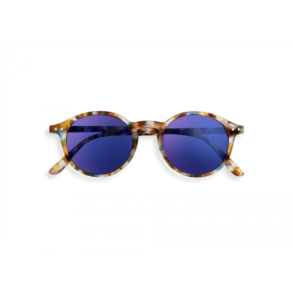 Style D Sunglasses Mirrored Tortoise