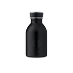 Water Bottle Lightweight 250ml Tuxedo Black