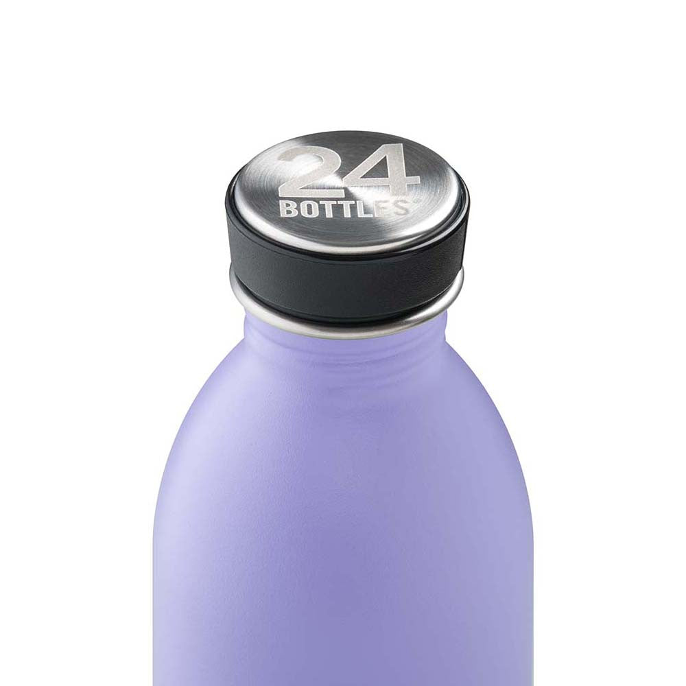 Water Bottle Lightweight 500ml Violet Purple Erica Stone