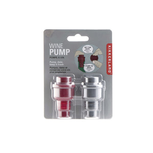 Set of 2 multi-colour wine pumps Home KIKKERLAND - Brand Academy Store