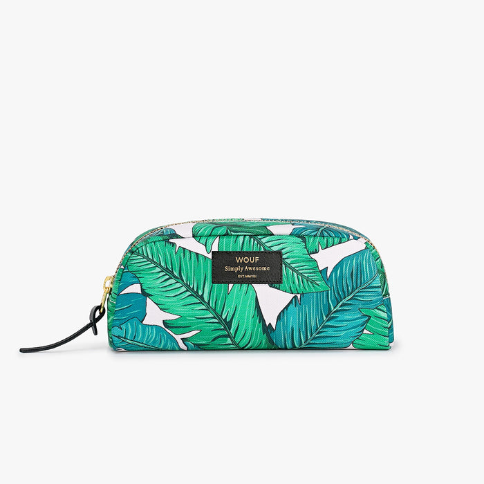 Tropical small beauty makeup bag