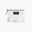 White marble small pouch